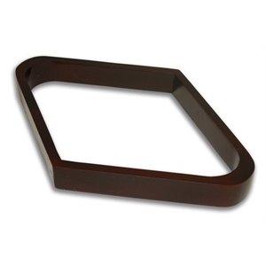 9 ball triangel hout bruin