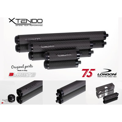 Longoni 3-Lobite XTENDO  carbon