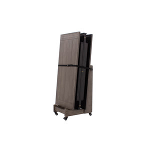 Transport trolley for cover sheets