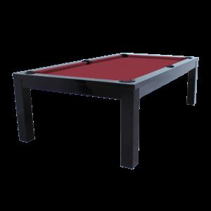 Pool table Penelope II. 8 foot. color glossy black