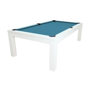 Pool table Penelope II. 7 e 8 foot. color glossy white
