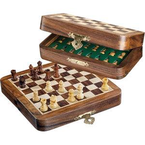 Philos schaakset mini magnetisch