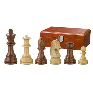 Philos Chess pieces Artus 67mm double weighted