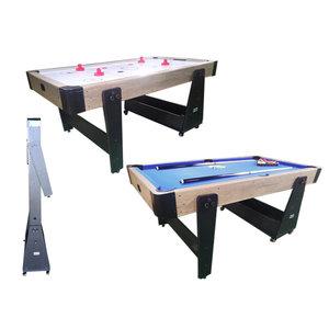 Air hockey / Pool table Twist 2-1 Max wheels wood