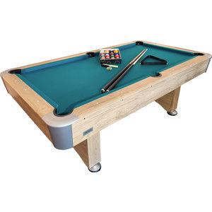 Pooltafel TopTable Timber, met ball-return