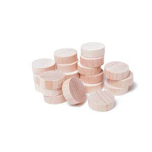 Set of 20 mini shuffleboard discs