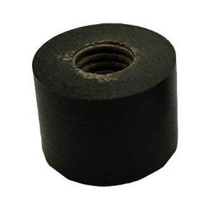 Keu dop Pro zwart 12 mm