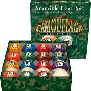 Aramith Camouflage maat 57 2 mm