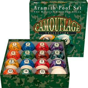 Aramith Camouflage size 57 2 mm