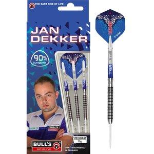 Bull's Jan Dekker 90% steeltip dartpijlen
