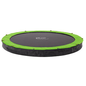 Plum ground trampoline In-Ground with cover 12 ft