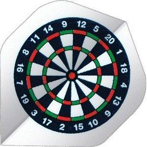 Base Bull's  dartbord 75 micron