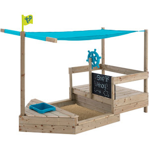 TP Ahoy wooden play boat
