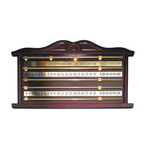 scoreboard wood snooker 4 players luxury