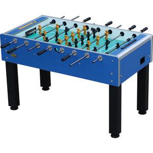 Football table School indoor blue
