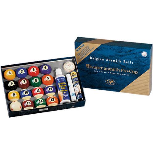 ARAMITH Aramith Super Pro Valuepack poolballen 57, 2 mm