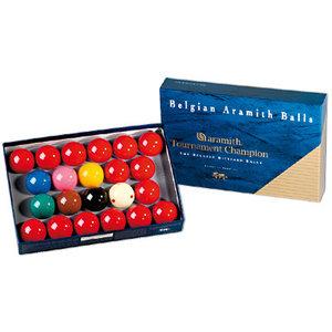 Snookerballen Aramith Tournament maat 52,4 mm