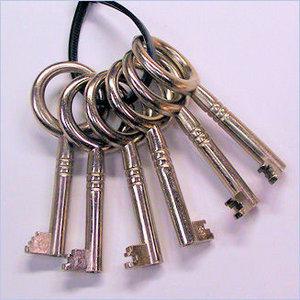 Spare key set for D&K clocks