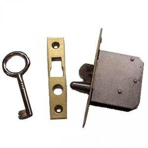 Slot voor D&K klok met 1 sleutel