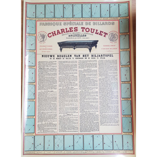 """Toulet Charles Toulet """"new rules of the billiard game"""""""