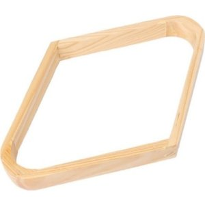 9 ball triangle natural wood