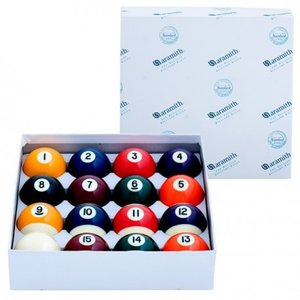 Pool balls Aramith size 57.2 mm