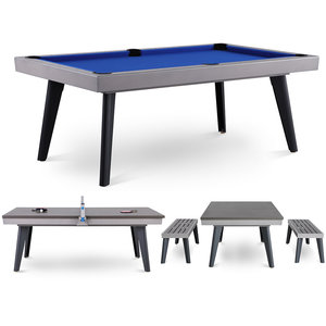 Outdoor Pool Table Exterior