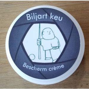 Billiard cue top end cream