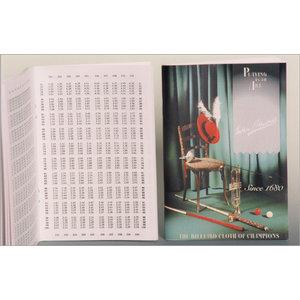 Biljartboek Simonis Moyenneboekje