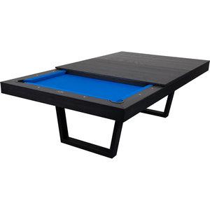 Pooltafel Harlem pooltafel 8ft zwart+top