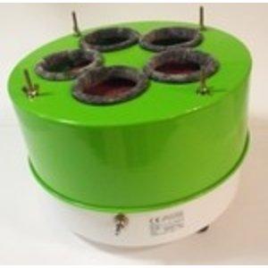 Longoni ballenpoets machine. Incl microvezeldoek 40 x 40 cm