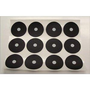 Spots per sheet of 12