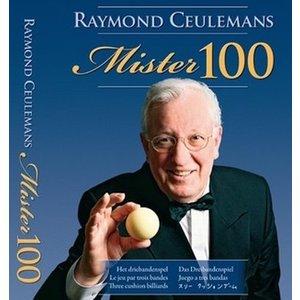 Biljartboek  Mister 100 Raymond Ceulemans