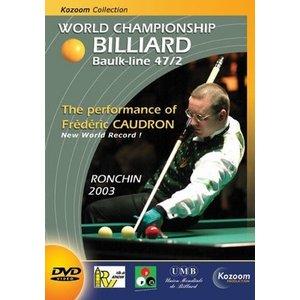 Biljart DVD Ronchin 2003  kader