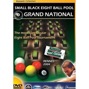 Biljart DVD Grand National 8Pool Rennes 2004