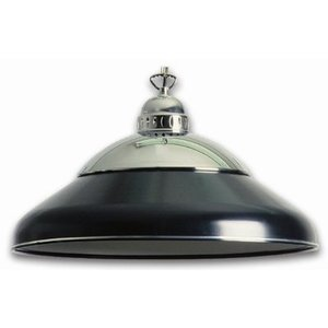 Lamp solo chrome Black