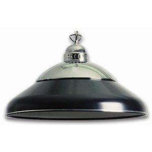Lamp solo chroom Zwart