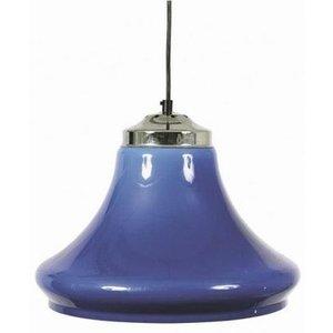 Lamp klokmodel transparant Blauw