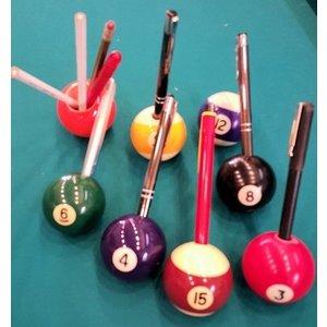 Biljart bal pen houder