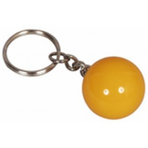 Key chain 25 mm yellow