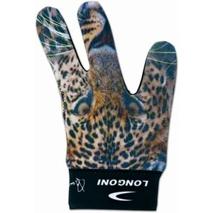 """Biljarthandschoen Wildlife """"Luipaard"""""""