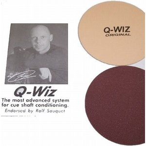 Billiard cue Q-Wiz Ralf Souguet polishing aid