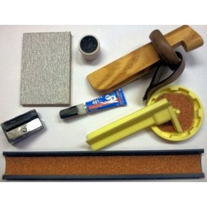 Billiard cue repair set VDB de luxe