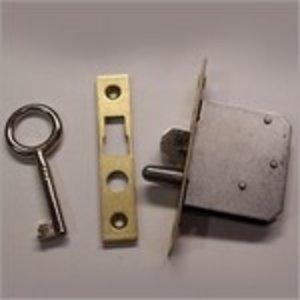Slot voor D&K klok met 2 sleutels