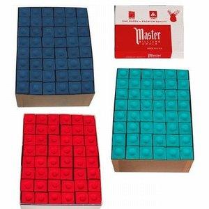Master billiard chalk 144 pieces