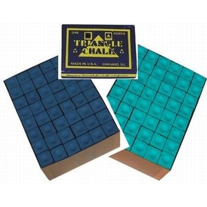 Triangle billiards chalk 144 pieces