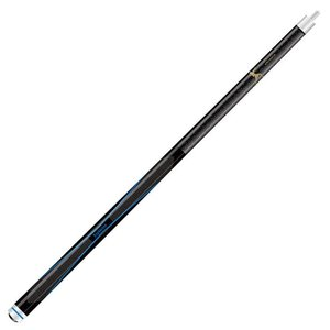 Artemis pool cue model Nano black / blue