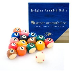 Poolballen Super Aramith 57.2mm PRO-CUP TV