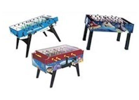 Printed football table