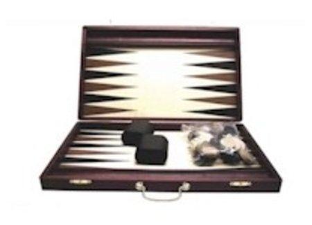 Backgammon boards.